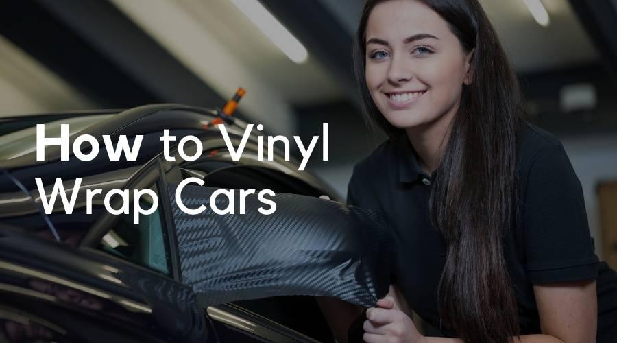 How to Vinyl Wrap Cars using a Heat Gun?